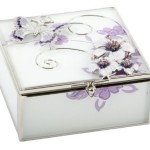 Juliana Purple Butterfly Trinket Box £12.48