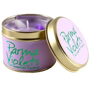 Lily Flame Scented Candle-Parma Violets