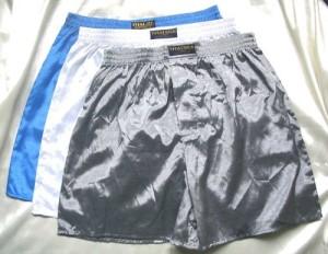 men's satin boxers