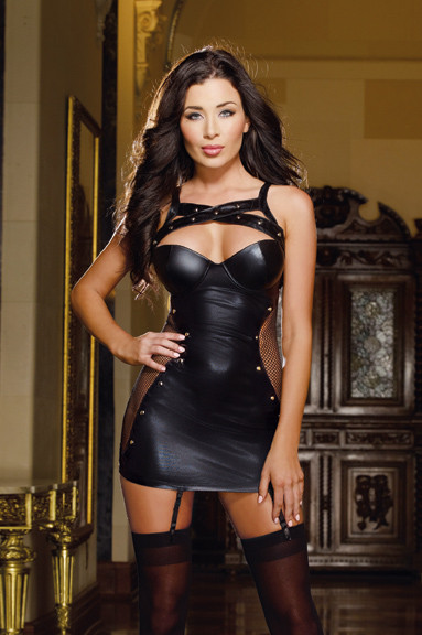 Dominatrix Suspender Dress
