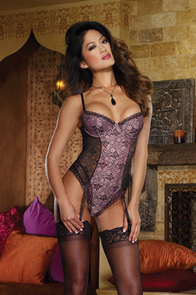 Parisian Nights Suspender Teddy