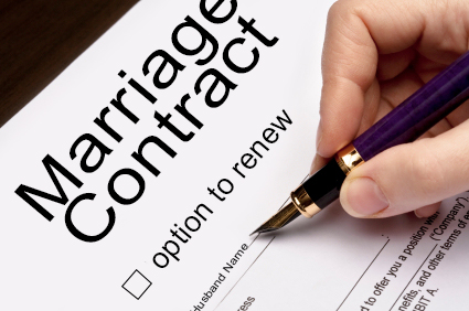 two year marriage contract-renewable marriage